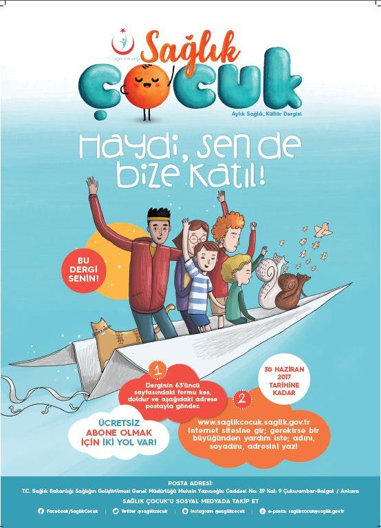 Sağlık Çocuk Dergisi Ücretsiz Abonelik